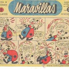 Tebeos: MARAVILLAS Nº 170. Lote 29051941