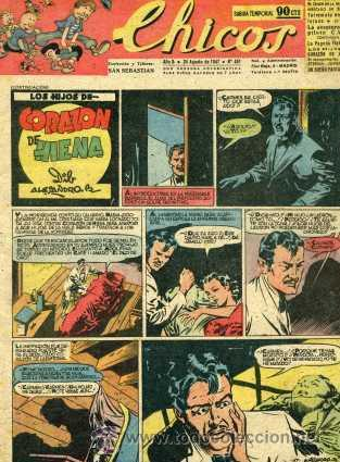 CHICOS Nº451 (ALEJANDRO BLASCO, COZZI, WHITE, GABI, ROCA, CANELLAS CASALS Y OTROS GRANDES DEL TEBEO) (Tebeos y Comics - Consuelo Gil)
