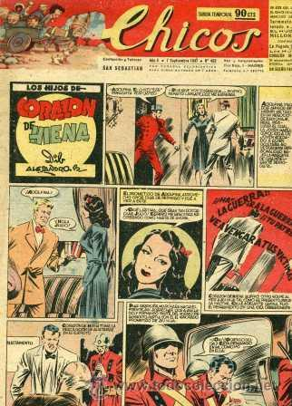 CHICOS 452 (BLASCO, COZZI, WHITE, CANELLAS CASALS, GABI, ROCA Y OTROS GRANDES DEL TEBEO ESPAÑOL) (Tebeos y Comics - Consuelo Gil)