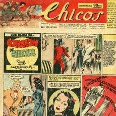 Tebeos: CHICOS 452 (BLASCO, COZZI, WHITE, CANELLAS CASALS, GABI, ROCA Y OTROS GRANDES DEL TEBEO ESPAÑOL). Lote 30038356