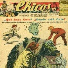 Tebeos: CHICOS 468 (BLASCO, WHITE, CANELLAS CASALS, GABI, ROCA Y OTROS GRANDES DEL TEBEO ESPAÑOL). Lote 30167627