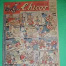 Tebeos: CHICOS.10-NOVIEMBRE -1946Nº411. Lote 30932344