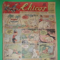 Tebeos: CHICOS.12 JULIO 1944. Lote 30932567