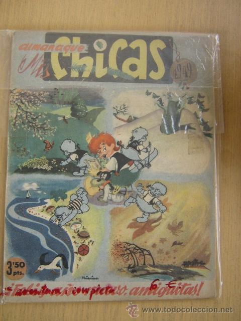 CONSUELO GIL ALMANAQUE MIS CHICAS Nº 1949 (Tebeos y Comics - Consuelo Gil)