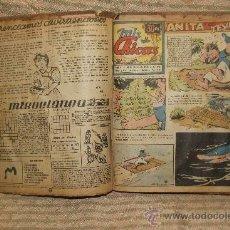 Tebeos: 2083- MIS CHICAS. PUBLICACION INFANTIL SEMANAL. AÑO V Y VI FEBRERO/ JUNIO 1946. ENCUADERNADO 1 TOMO . Lote 34641439