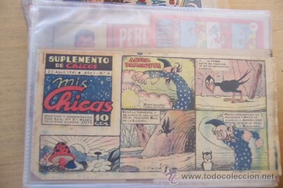 CONSUELO GIL SUPLEMENTO CHICOS. MIS CHICAS 1º FORMATO Nº 4-43 (Tebeos y Comics - Consuelo Gil)