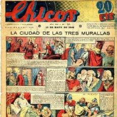 Giornalini: CHICOS Nº115 (CONSUELO GIL, 13 MARZO 1940). FREIXAS, AROZTEGUI.... Lote 35785179