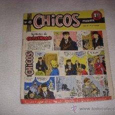 Tebeos: CHICOS Nº 45, 1,50 PTAS, EDITORIAL CONSUELO GIL. Lote 36061760