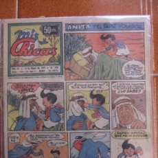 Giornalini: MIS CHICAS Nº 276 MAYO DE 1947. Lote 37021892