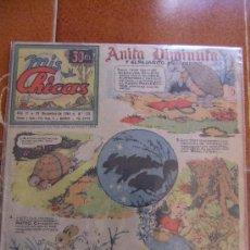 Tebeos: MIS CHICAS Nº 170 DICIEMBRE DE 1944. Lote 37022257