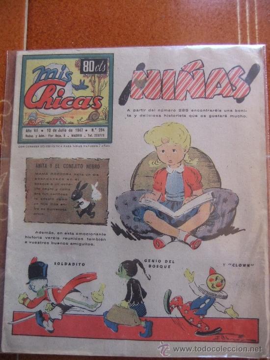 MIS CHICAS Nº 248 JUNIO DE 1947 (Tebeos y Comics - Consuelo Gil)