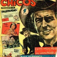 Tebeos: CHICOS Nº10 (CAPITÁN PANTERA, DOS HOMBRES BUENOS, COELHO, ALFONSO FIGUERAS ...). Lote 37443607