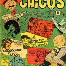 Tebeos: CHICOS Nº14 (CAPITÁN PANTERA, DOS HOMBRES BUENOS, COELHO, MONTAÑÉS ...). Lote 37539536