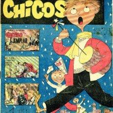 Tebeos: CHICOS Nº28 (PAU PI, DOS HOMBRES BUENOS, MARTÍN SALVADOR, FIGUERAS...). Lote 37729144