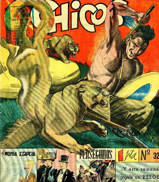 CHICOS Nº32 (DOS HOMBRES BUENOS, MARTÍN SALVADOR,PIZARRO, FIGUERAS, CARLOS LAFFOND...) (Tebeos y Comics - Consuelo Gil)