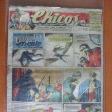 Tebeos: CHICOS Nº 377 ** AÑO 1946 ** CONSUELO GIL ** J. BLASCO ** ORIGINAL. Lote 38770851