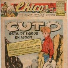 Tebeos: CHICOS Nº 385 ** AÑO 1946 ** CONSUELO GIL **. Lote 38799128