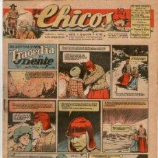 Tebeos: CHICOS Nº 383 ** AÑO 1946 ** CONSUELO GIL **. Lote 38799302