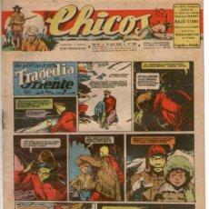 Tebeos: CHICOS Nº 382 ** AÑO 1946 ** CONSUELO GIL **. Lote 38799343