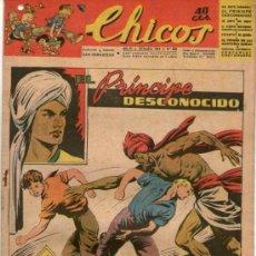 Tebeos: CHICOS Nº 320 ** AÑO 1944 ** CONSUELO GIL **. Lote 38799527