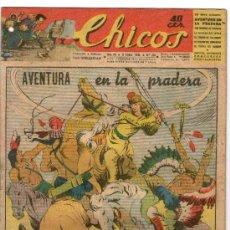 Tebeos: CHICOS Nº 335 ** AÑO 1945 ** CONSUELO GIL **. Lote 38800125