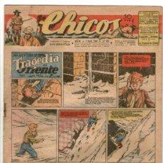Tebeos: CHICOS Nº 380 ** AÑO 1946 ** CONSUELO GIL **. Lote 38800207