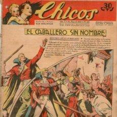 Tebeos: CHICOS Nº 214 ** AÑO 1942 ** CONSUELO GIL **. Lote 38801070