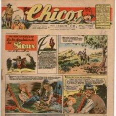 Tebeos: CHICOS Nº 399 ** AÑO 1946 ** CONSUELO GIL **. Lote 38801180