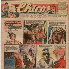 Tebeos: CHICOS Nº 394 ** AÑO 1946 ** CONSUELO GIL **. Lote 38801190