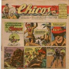 Tebeos: CHICOS Nº 388 ** AÑO 1946 ** CONSUELO GIL **. Lote 38801217