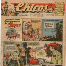 Tebeos: CHICOS Nº 387 ** AÑO 1946 ** CONSUELO GIL **. Lote 38801232