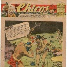 Tebeos: CHICOS Nº 386 ** AÑO 1946 ** CONSUELO GIL **. Lote 38801250