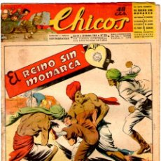 Tebeos: CHICOS Nº 329 22/11/1944 ** CONSUELO GIL. Lote 39697439