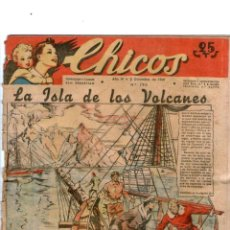 Tebeos: CHICOS Nº 190 03/12/1941 ** CONSUELO GIL. Lote 39697680