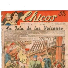 Tebeos: CHICOS Nº 187 12/11/1941 ** CONSUELO GIL. Lote 39697713