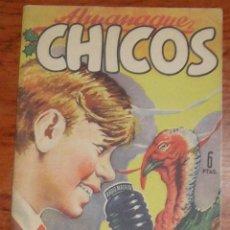 Tebeos: CHICOS ALMANAQUE 1949. Lote 40961085
