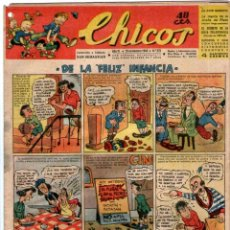 Tebeos: CHICOS Nº 275 10/11/1943 ** CONSUELO GIL. Lote 41421242