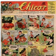 Tebeos: CHICOS Nº 276 17/11/1943 ** CONSUELO GIL. Lote 41421266