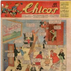 Tebeos: CHICOS Nº 277 24/11/1943 ** CONSUELO GIL. Lote 41421304
