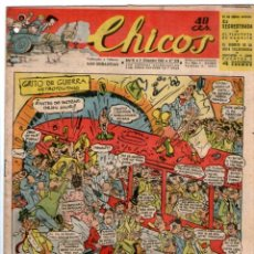 Tebeos: CHICOS Nº 278 01/12/1943 ** CONSUELO GIL. Lote 41421348