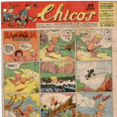 Tebeos: CHICOS Nº 281 22/12/1943 ** CONSUELO GIL. Lote 41421385