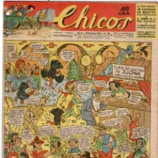 Tebeos: CHICOS Nº 282 29/12/1943 ** CONSUELO GIL. Lote 41421418