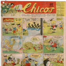 Tebeos: CHICOS Nº 284 12/01/1943 ** CONSUELO GIL. Lote 41421470