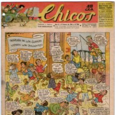 Tebeos: CHICOS Nº 288 09/02/1944 ** CONSUELO GIL. Lote 41421638