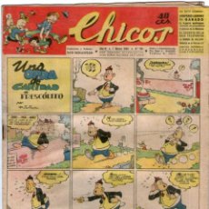 Giornalini: CHICOS Nº 291 01/03/1944 ** CONSUELO GIL - RESERVADO MANUEL TRAVIESO. Lote 41421774