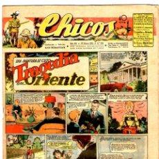 Livros de Banda Desenhada: CHICOS Nº 345 21/03/1945 ** CONSUELO GIL. Lote 41423424