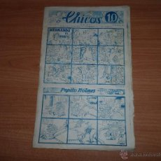 Tebeos: CHICOS ORIGINAL Nº 7 EDITORIAL CONSUELO GIL 1938. Lote 41459509