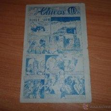 Tebeos: CHICOS ORIGINAL Nº 27 EDITORIAL CONSUELO GIL 1938. Lote 41558704