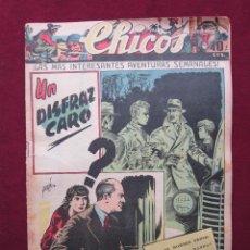 Tebeos: CHICOS AÑO VII. Nº 308. 28 DE JUNIO DE 1944. CUTO DE J. BLASCO, NADAL, PUIGMIQUEL, PORTO, ETC.. Lote 42655633