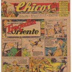 Tebeos: CHICOS. Nº 349. 18 DE ABRIL 1945. UNA AVENTURA DE CUTO. EDTOR. CONSUELO GIL. Lote 44430125